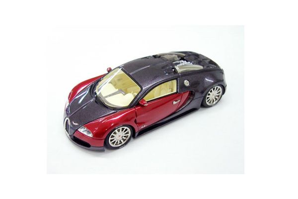 LOOKSMART 1/43scale Bugatti Veyron Study 2003 Black / Red [No.LS114A]