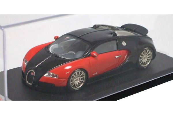 LOOKSMART 1/43scale Bugatti Veyron Monterey Quail lodge 2007 Black/Red [No.LS114N]