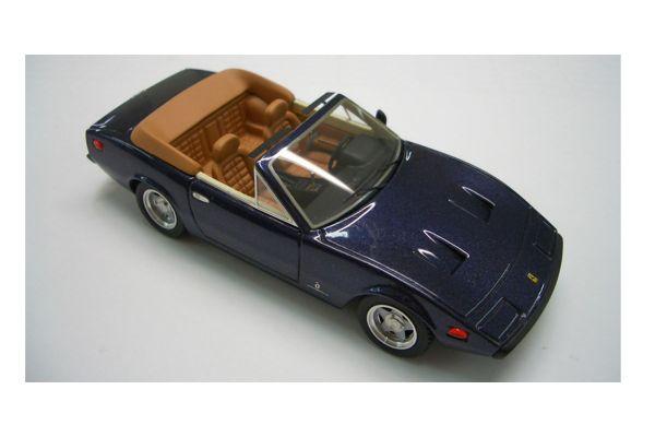 LOOKSMART 1/43scale Ferrari 365 GTC/4 Cabriolet 1971 Red Met. [No.LS144A]