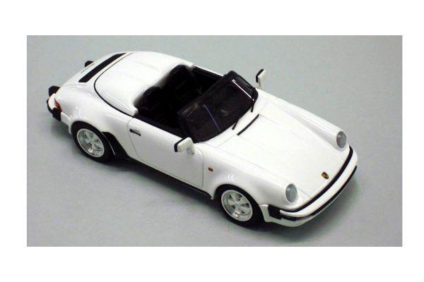 LOOKSMART 1/43scale Porsche 911 Speedstar 1989 White [No.LS152A]