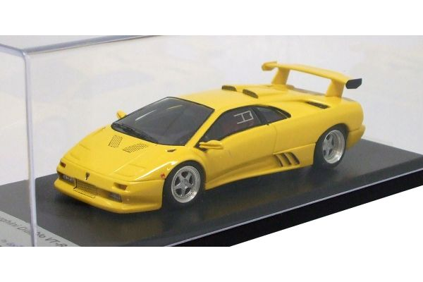 LOOKSMART 1/43scale Lamborghini Diablo VT-R Yellow [No.LS165A]