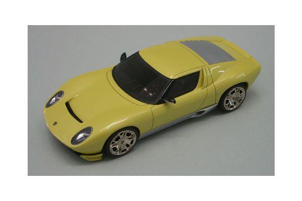 LOOKSMART 1/43scale Lamborghini Miura Concept Los Angeles Motorshow 2006 Met. Yellow [No.LS172B]