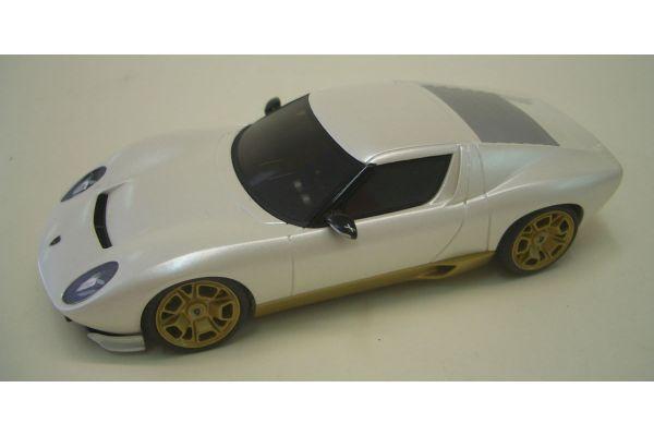 LOOKSMART 1/43scale Lamborghini Miura Concept LIMITED EDITION 100 pcs MatPearl White [No.LS172I]