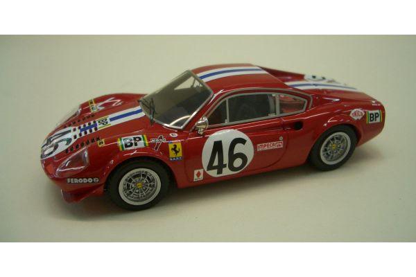 LOOKSMART 1/43scale Ferrari Dino 246GT (No.46/Le Mans 1976) Red [No.LS178]