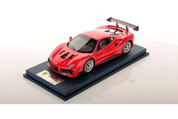 LOOKSMART 1/18scale Ferrari 488 Challenge ROSSO CORSA (Red)  [No.LS18RC010B]