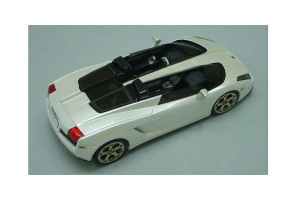 LOOKSMART 1/43scale Lamborghini Concept S Second Version Concorso Italiano2005 Pearl White [No.LS199]