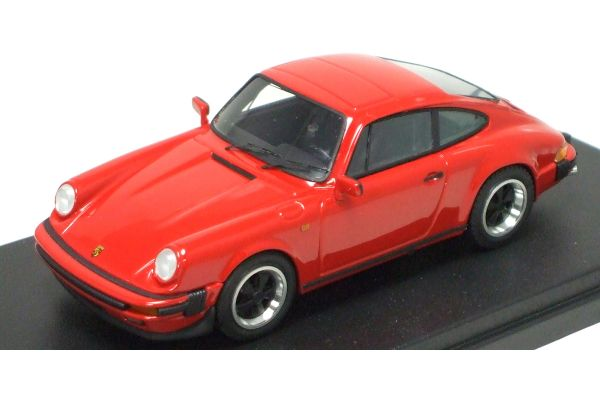 LOOKSMART 1/43scale PORSCHE  911 3.2 Coupe 1989 Red [No.LS200A]