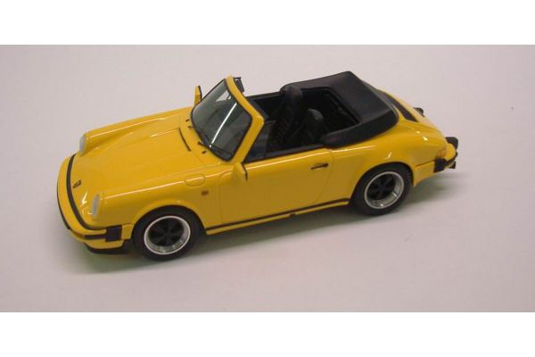 LOOKSMART 1/43scale Porsche 911 3.2 Cabriolet Yellow [No.LS202B]