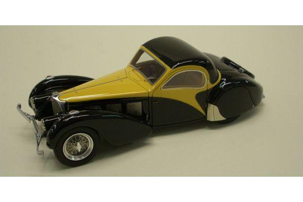 LOOKSMART 1/43scale Bugatti T57 (chassis 57.562) Black/Yellow [No.LS218]
