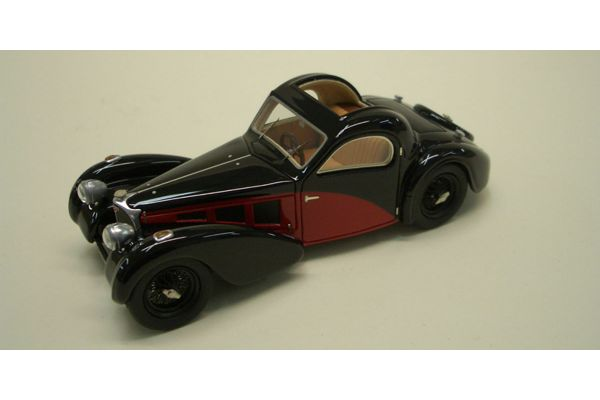 LOOKSMART 1/43scale Bugatti T57 (chassis 57.384) Black/Red [No.LS220]