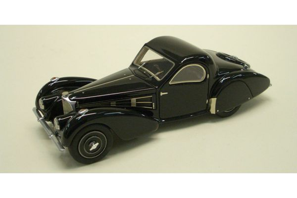 LOOKSMART 1/43scale Bugatti T57 (chassis 57.532) Black [No.LS221]