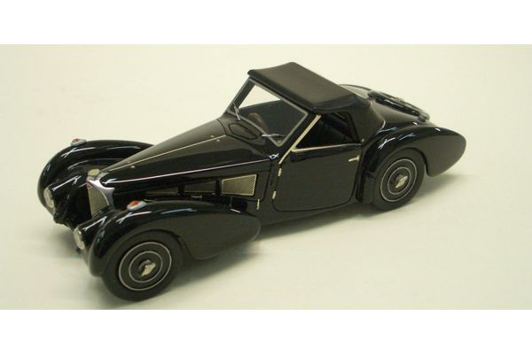 LOOKSMART 1/43scale Bugatti T57 (chassis 57.563) Closed Roof Black [No.LS222A]