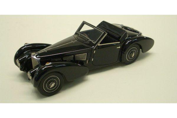 LOOKSMART 1/43scale Bugatti T57 (chassis 57.563) Open Roof Black [No.LS222B]