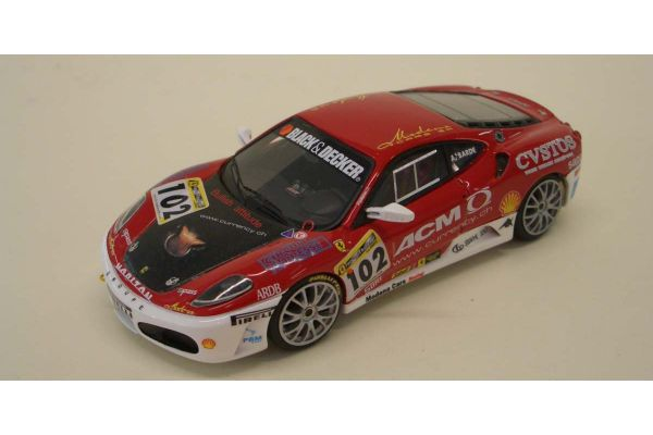 LOOKSMART 1/43scale Ferrari F430 Challenge 2006 Team Modena Cars Racing (No.102)  [No.LS280]