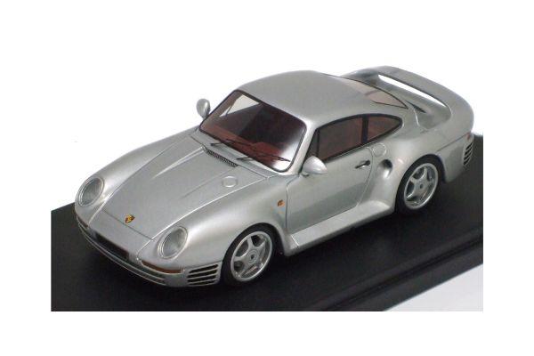 LOOKSMART 1/43scale Porsche 959 Silver [No.LS290A]