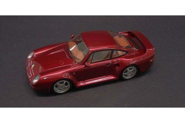 LOOKSMART 1/43scale Porsche 959 Metallic Red [No.LS290C]