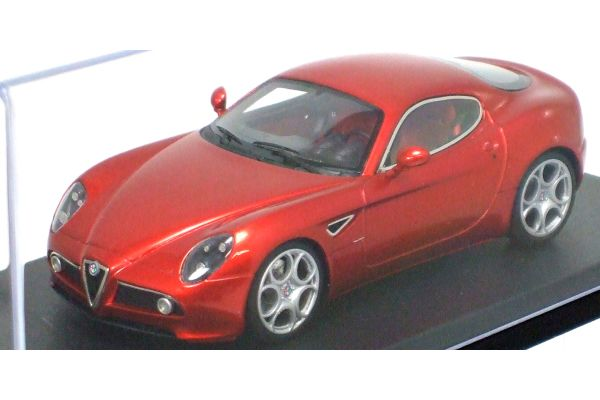 LOOKSMART 1/43scale Alfa Romeo 8C Competizione ( Salone di Francoforte 2007) Red Metallic [No.LS303A]