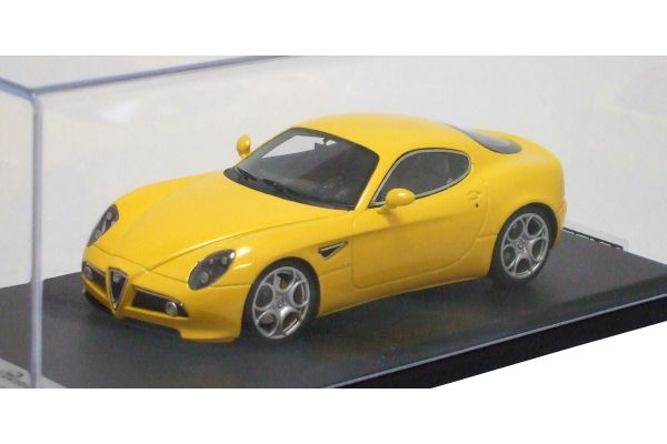 LOOKSMART 1/43scale Alfa Romeo 8C Competizione ( Salone di Francoforte 2007) Yellow [No.LS303B]
