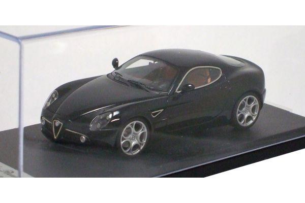 LOOKSMART 1/43scale Alfa Romeo 8C Competizione ( Salone di Francoforte 2007) Black [No.LS303C]