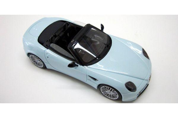 LOOKSMART 1/43scale Alfa Romeo 8C Spider Light Blue /Black Interior [No.LS304C]