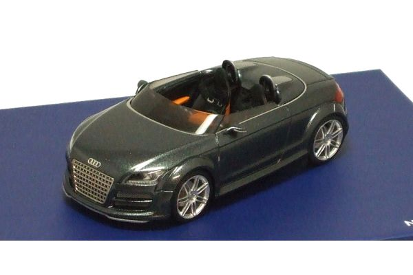 LOOKSMART 1/43scale AUDI TT Club Sport 2007 Metallic Dark Gray [No.LS305]
