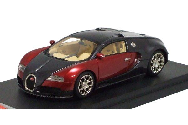 LOOKSMART 1/43scale Bugatti Veyron GrandSports 2008 Black /Red [No.LS314B]
