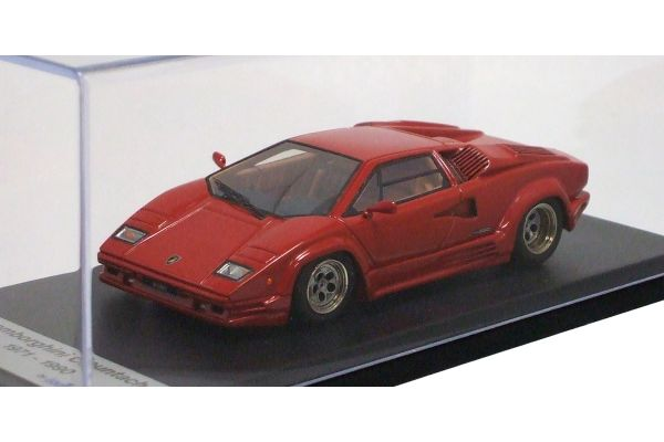LOOKSMART 1/43scale Lamborghini Countach  25th Anniversary 1988 Red [No.LS327B]