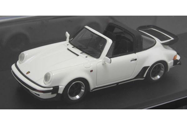 LOOKSMART 1/43scale Porsche 911 Targa Turbo Look White [No.LS360A]