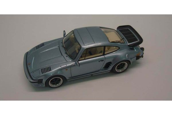 LOOKSMART 1/43scale Porsche 911 Turbo Flatnose Light Blue Metallic [No.LS362B]