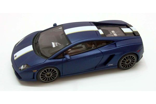 LOOKSMART 1/43scale Lamborghini  Gallardo  LP550-2 Valentino Balboni Blue/White/Gold Stripe [No.LS367D]