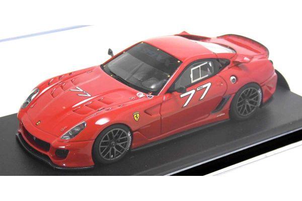 LOOKSMART 1/43scale Ferrari 599 XX VERSIONE CLIENTI (No77 Felipe Massa) Red [No.LS368E]