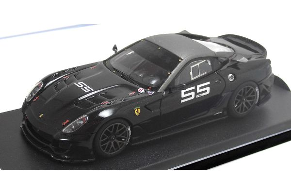LOOKSMART 1/43scale Ferrari 599 XX VERSIONE CLIENTIGrigio Ghisa Opaco (No55) Black [No.LS368M]
