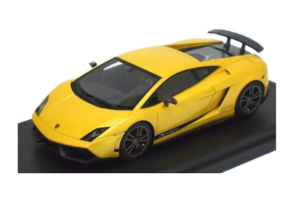 LOOKSMART 1/43scale Lamborghini  Gallardo  LP570-4 Superleggera Metallic Yellow [No.LS370C]