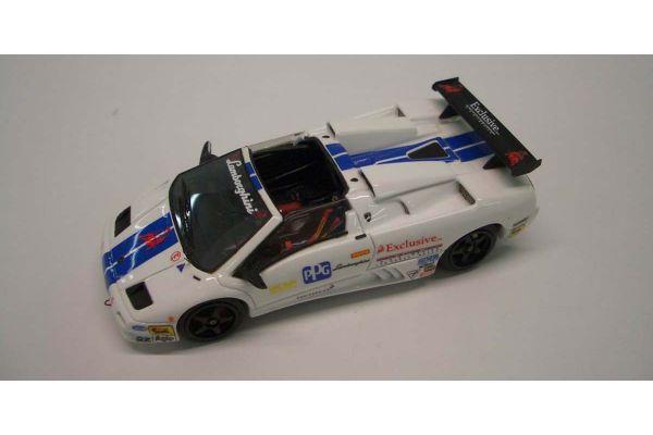 LOOKSMART 1/43scale Lamborghini Diablo VT-US Race White/Blue Stripe [No.LS371]
