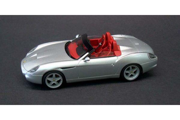 LOOKSMART 1/43scale Ferrari 550 GTZ Barchetta Silver/Red Interior [No.LS372A]