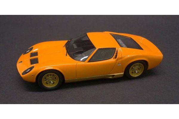 LOOKSMART 1/43scale Lamborghini Miura P400 GenevaMotorShow 1966 Orange [No.LS376A]