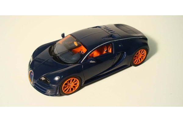 LOOKSMART 1/43scale Bugatti Veyron 16.4 Super Sport Black [No.LS381B]