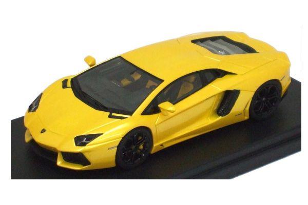 LOOKSMART 1/43scale Lamborghini Aventador LP700-4 Yellow [No.LS384B]