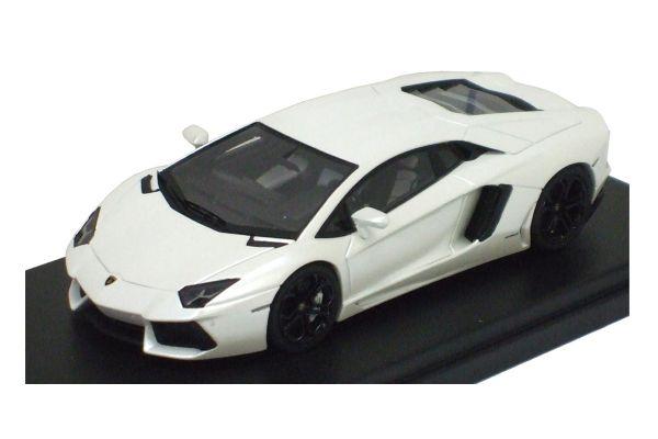 LOOKSMART 1/43scale Lamborghini Aventador LP700-4 White [No.LS384E]