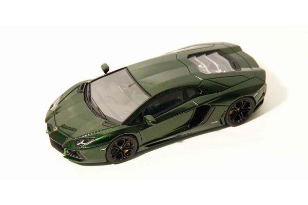LOOKSMART 1/43scale Lamborghini Aventador LP700-4(VERDE PSYCHE) Green [No.LS384F]