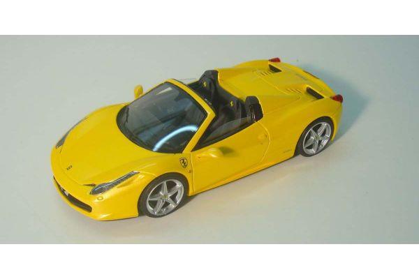 LOOKSMART 1/43scale FERRARI 458 SPIDER Giallo Tristrato/Yellow [No.LS393C]