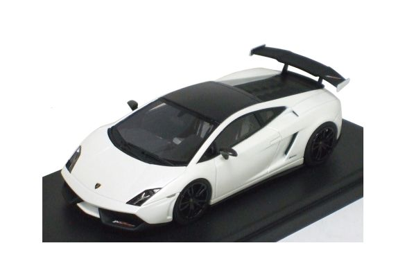 LOOKSMART 1/43scale Lamborghini Gallardo LP570-4 Super Trofeo Stradale Matt White [No.LS395B]