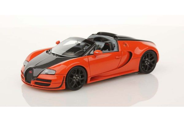 LOOKSMART 1/43scale Bugatti Vitesse Orange/Carbon [No.LS396D]