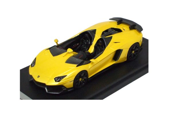 LOOKSMART 1/43scale Lamborghini Aventador J Yellow [No.LS398B]