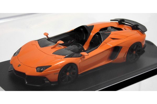 LOOKSMART 1/43scale Lamborghini Aventador J Orange [No.LS398E]