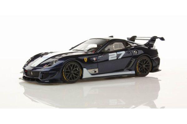 LOOKSMART 1/43scale Ferrari 599XX Evo Blue No.27 Blue [No.LS400F]