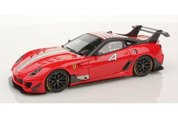 LOOKSMART 1/43scale Ferrari 599XX Evo NEW ROSSO F1 2009 No.4  [No.LS400L]