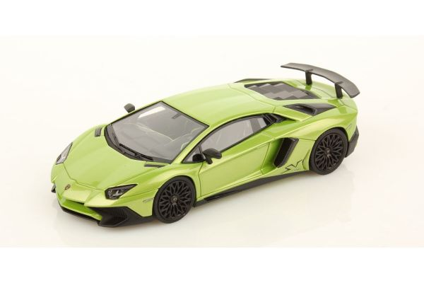 LOOKSMART 1/43scale Lamborghini Aventador LP750-4 Superveloce Verde Ithaca Green [No.LS447E]