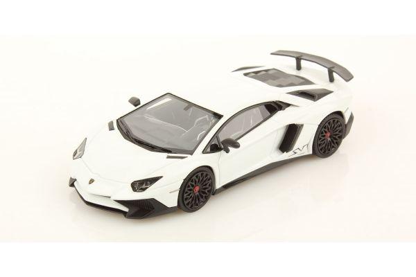 LOOKSMART 1/43scale Lamborghini Aventador LP 750-4 Superveloce White [No.LS447F]