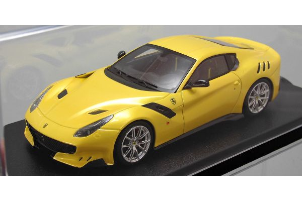 LOOKSMART 1/43scale Ferrari F12tdf (Giallo Tristrato) Yellow  [No.LS450A]